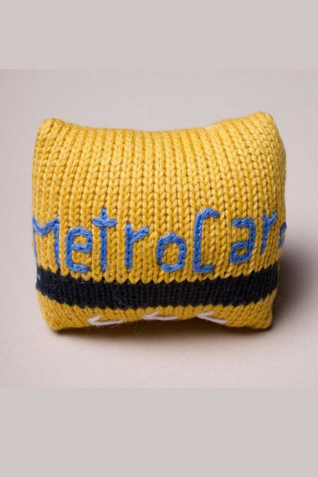 Estella Organic Metrocard Rattle - Front Cropped Image