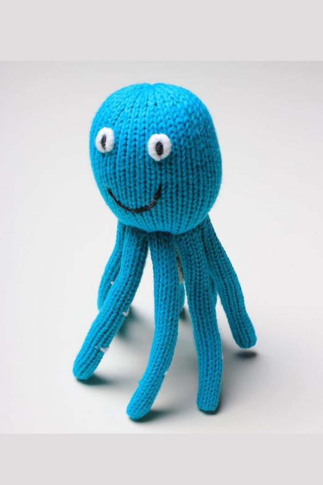 Estella Organic Octopus Rattle - Front Full Image