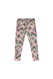 Paper Wings Organic Owl Leggings - Front cropped