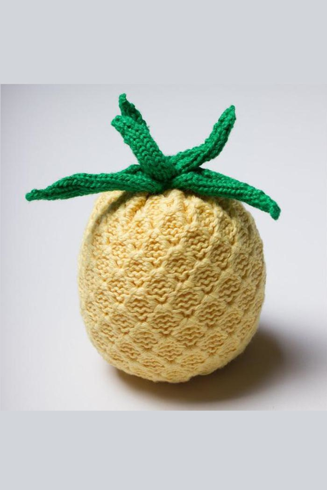 Estella Organic Pineapple Rattle - Main Image
