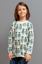 Winter Water Factory Organic Robots Tee - Front full body