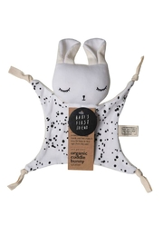 Wee Gallery Organic Splatter Cuddle-Bunny - Front cropped