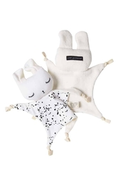 Wee Gallery Organic Splatter Cuddle-Bunny - Front full body
