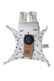 Wee Gallery Organic Stars Cuddle-Bunny - Front cropped