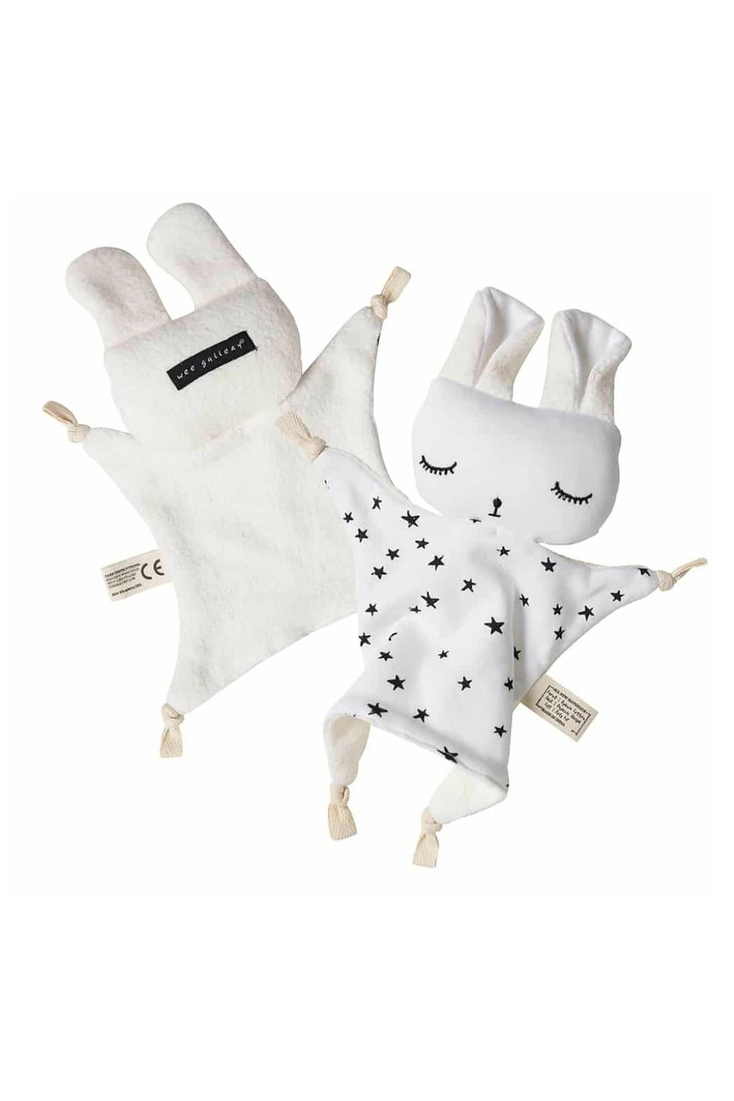 Wee Gallery Organic Stars Cuddle-Bunny - Front Full Image