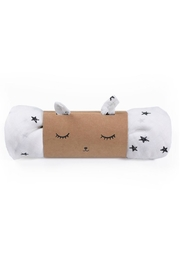 Wee Gallery Organic Stars Swaddle - Front cropped