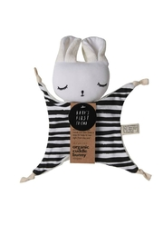 Wee Gallery Organic Stripes Cuddle-Bunny - Front cropped
