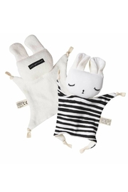 Wee Gallery Organic Stripes Cuddle-Bunny - Front full body