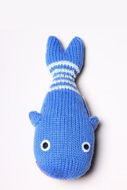 Estella Organic Whale Rattle - Front full body