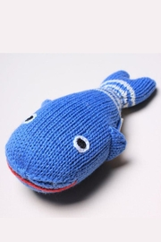 Estella Organic Whale Rattle - Side cropped
