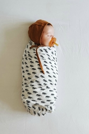 Wee Gallery Organic Woods Swaddle - Front full body