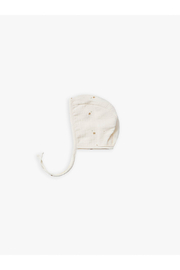 Quincy Mae Organic Woven Baby Bonnet - Tiny Flowers - Product Mini Image