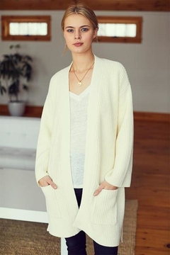 Emerson Fry Organic Wrap Sweater - Product List Image