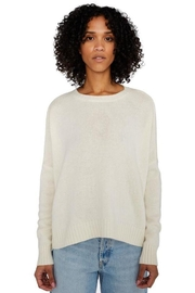 Organic by John Patrick Cashmere Wide Pullover In Ivory - Product Mini Image