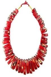 Organic Tagua Jewelry Amazon Tagua Necklace - Front cropped