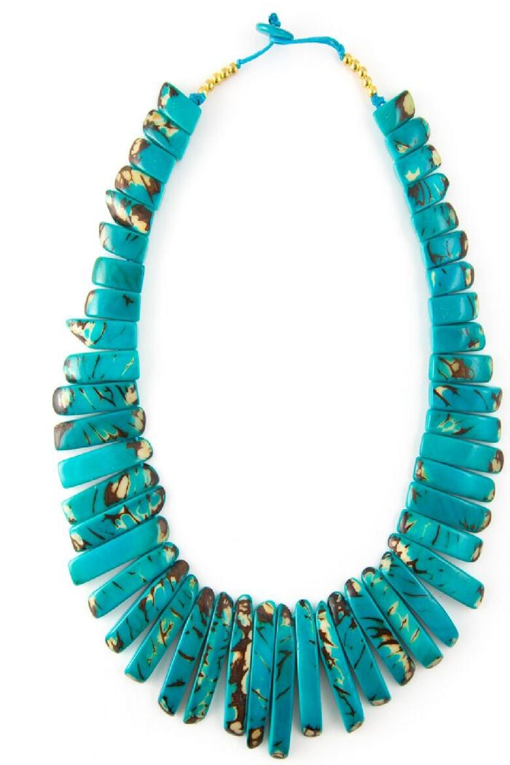 Organic Tagua Jewelry Amazon Tagua Necklace - Front Cropped Image