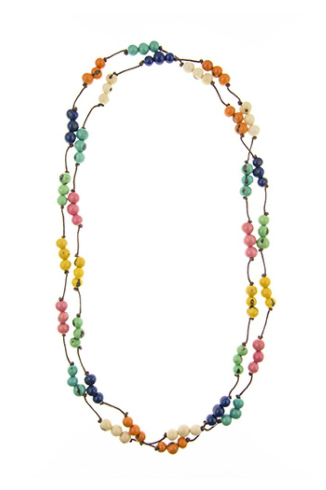 organic tagua jewelry montnita necklace from virginia by