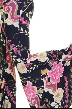 Uptown Oriental Floral Palazzo - Product List Image