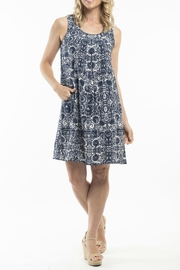 Orientique Samothrace Sleeveless Dress - Front cropped