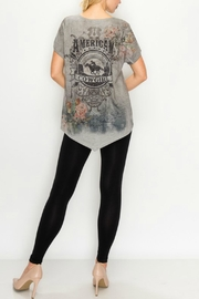 Origami Graphic-Tee - American Cowgirl - Front full body