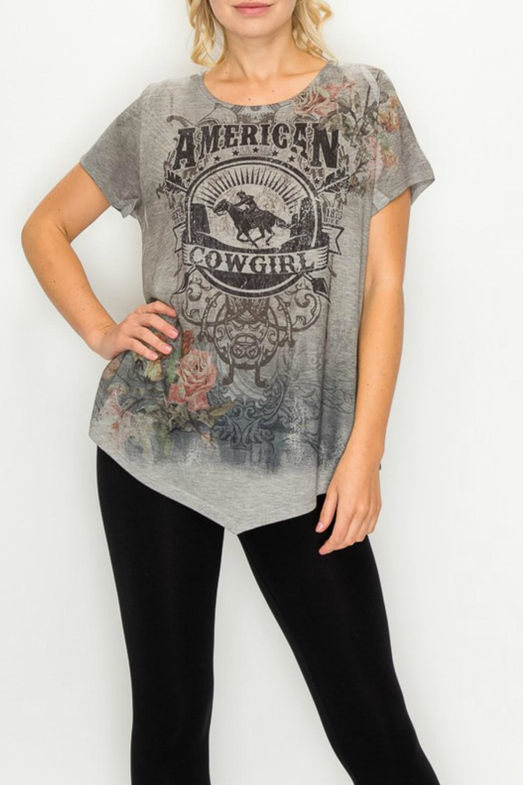 Origami Graphic-Tee - American Cowgirl - Main Image