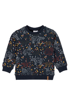 Deux Par Deux Origami Animals French Terry Sweatshirt - Product List Image