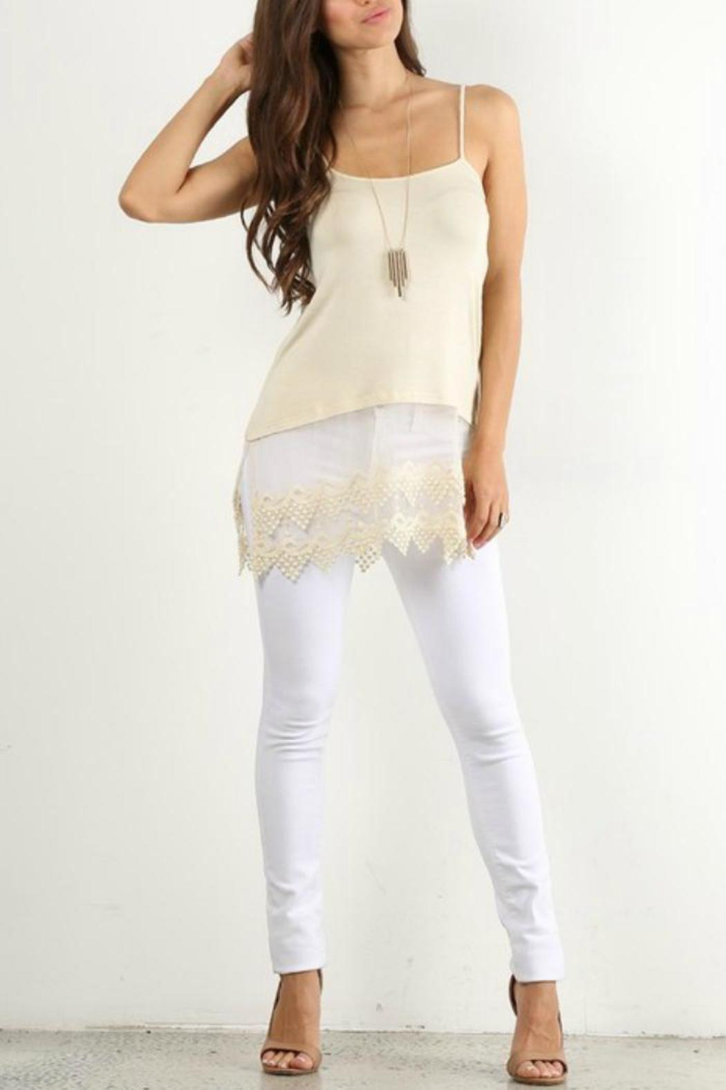 Origami Lace Extender Top from Texas by Dee Dee Style ... - photo#7