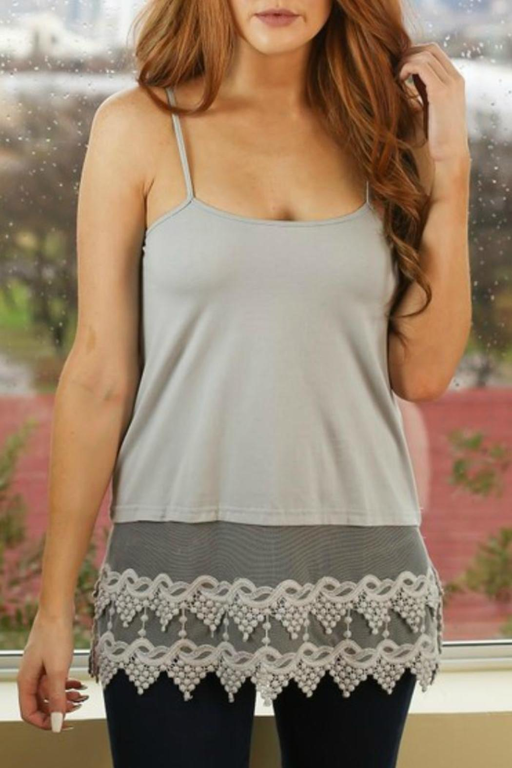 Origami Lace Extender Top from Texas by Dee Dee Style ... - photo#9