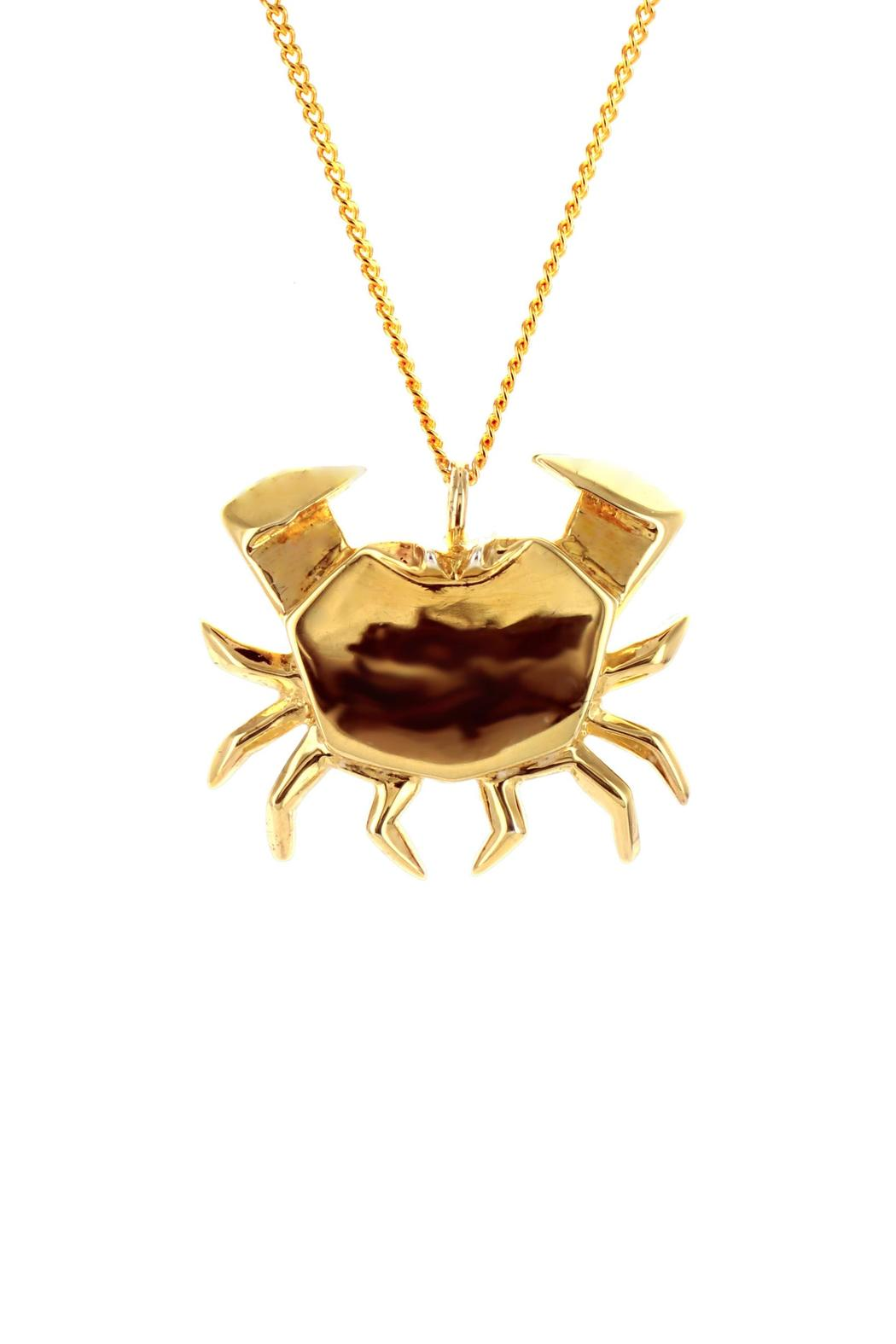 Origami Jewellery Necklace Crab Silver from Paris by ... - photo#46