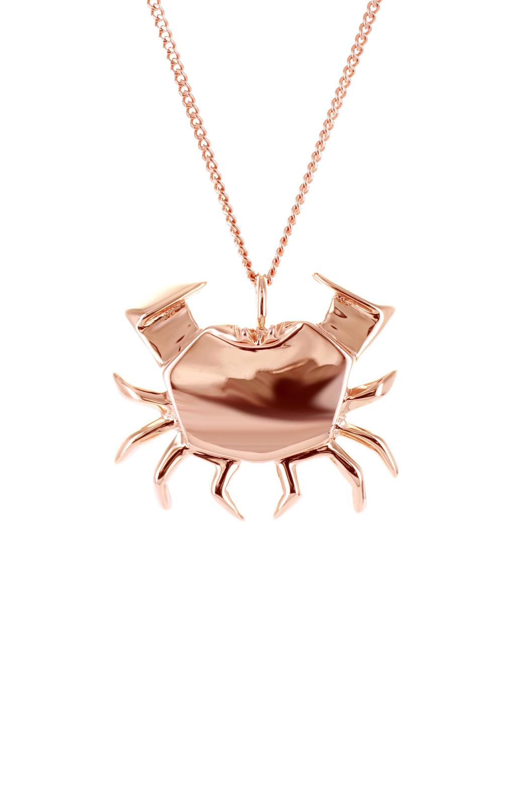 Origami Jewellery Necklace Crab Silver from Paris by ... - photo#6