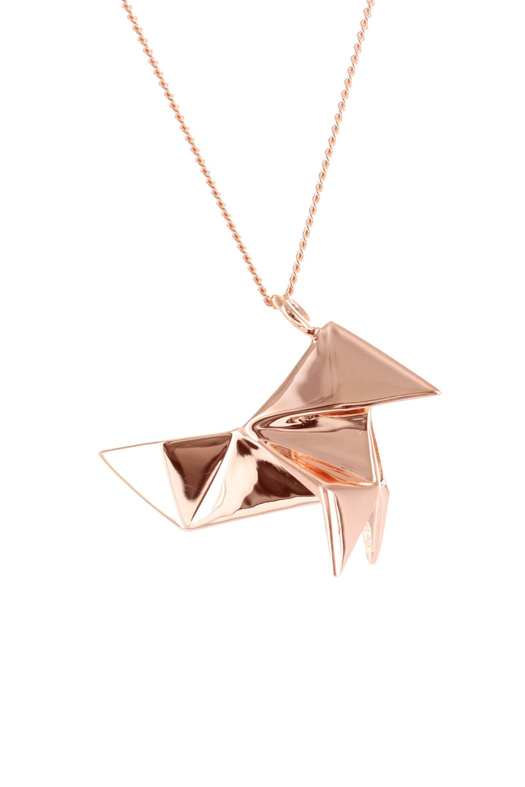 Origami Jewellery Necklace Cuckoo Silver from Paris by ... - photo#23