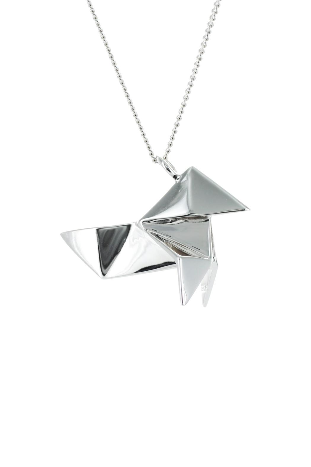 Origami Jewellery Necklace Cuckoo Silver from Paris by ... - photo#35