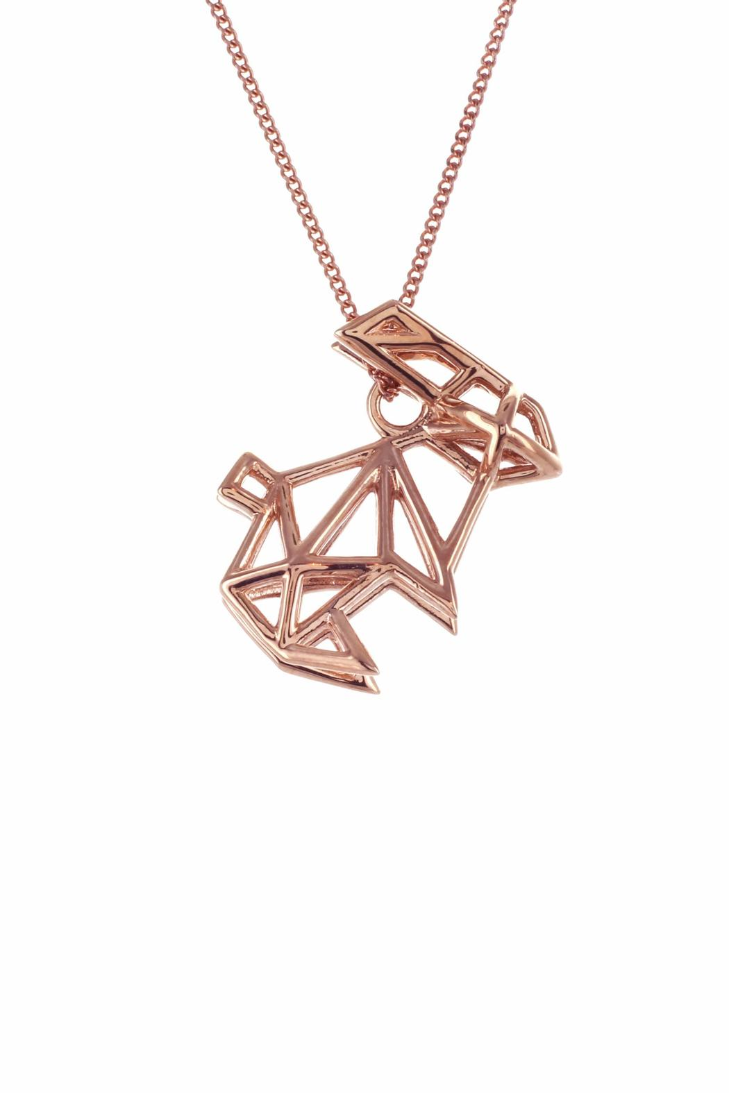 Origami Jewellery Necklace Frame Rabbit from Paris by ... - photo#39