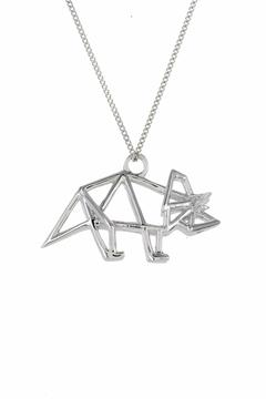 Origami Jewellery Necklace Frame Triceratops - Product List Image
