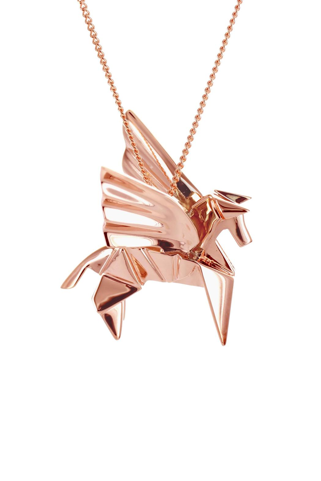 Origami Jewellery Pegazus Necklace from Paris by Origami ... - photo#4