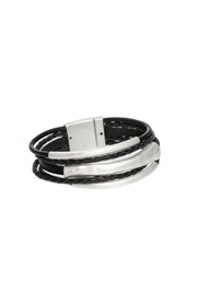 Origin Jewelry Black Layered Bracelet - Product Mini Image