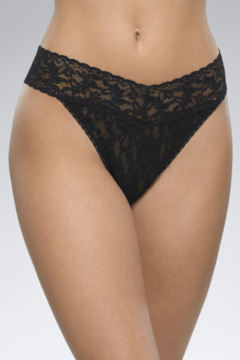 Hanky Panky Original Lace Thong - Alternate List Image