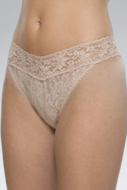 Hanky Panky Original Lace Thong - Front full body