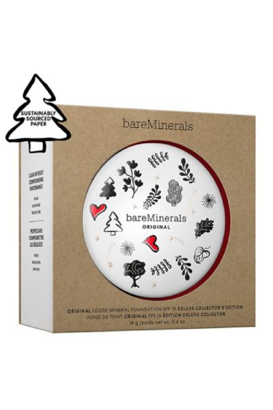 bareMinerals ORIGINAL LOOSE MINERAL FOUNDATION DELUXE COLLECTOR'S EDITION - Front Full Image