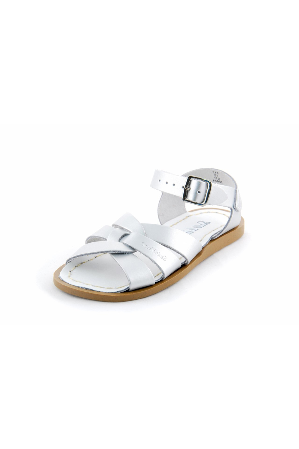 5a361db55b1 Hoy Shoes Original Saltwater Sandals Silver Youth Adult - Front Cropped  Image