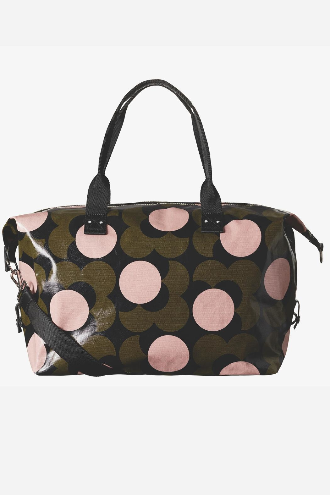 Orla Kiely Flower Travel Holdall Bag - Front Cropped Image