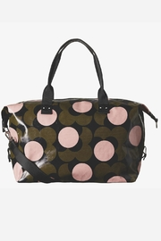 Orla Kiely Flower Travel Holdall Bag - Front cropped