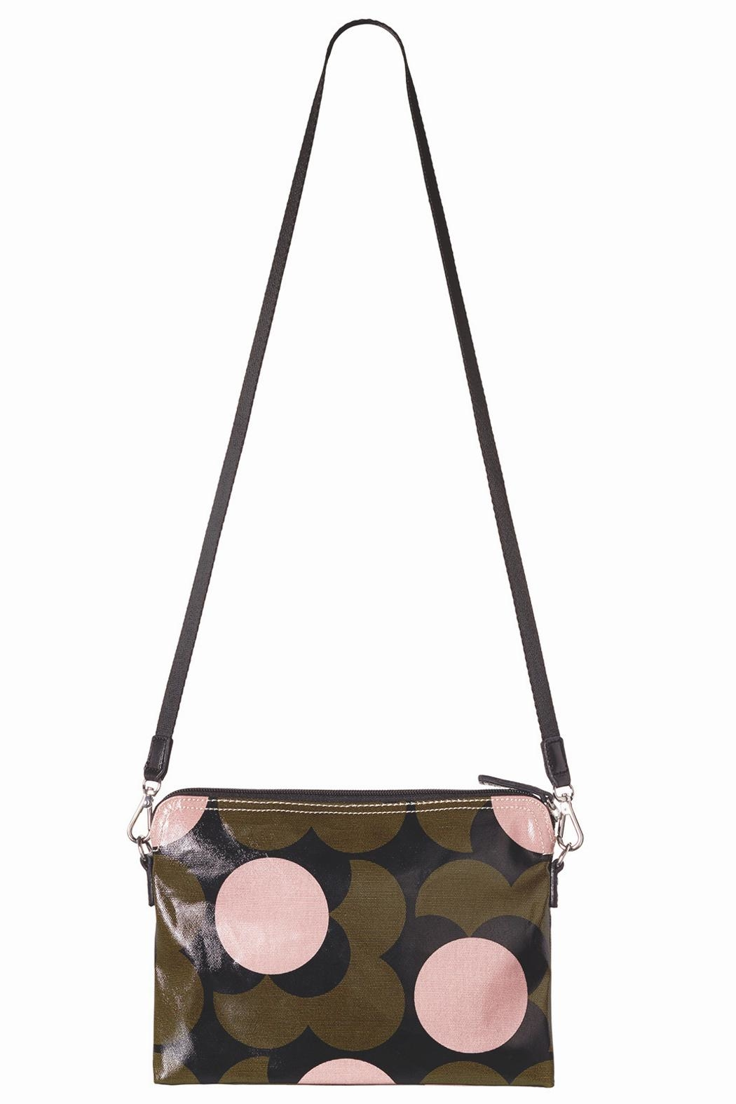 Orla Kiely Flower Travel Pouch - Side Cropped Image