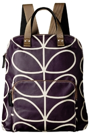 Orla Kiely Orchid Backpack - Front cropped