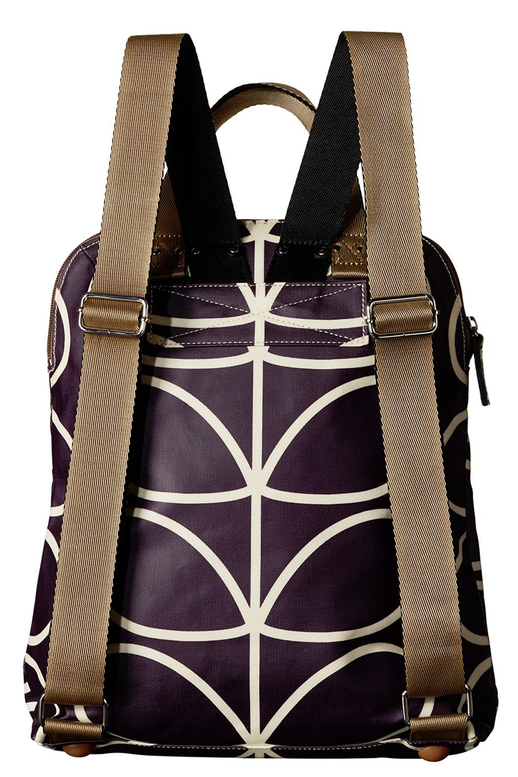 Orla Kiely Orchid Backpack - Side Cropped Image