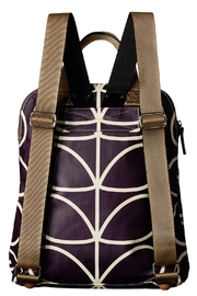 Orla Kiely Orchid Backpack - Side cropped