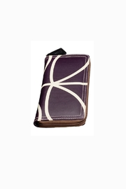 Orla Kiely Orchid Big Zip Wallet - Back cropped