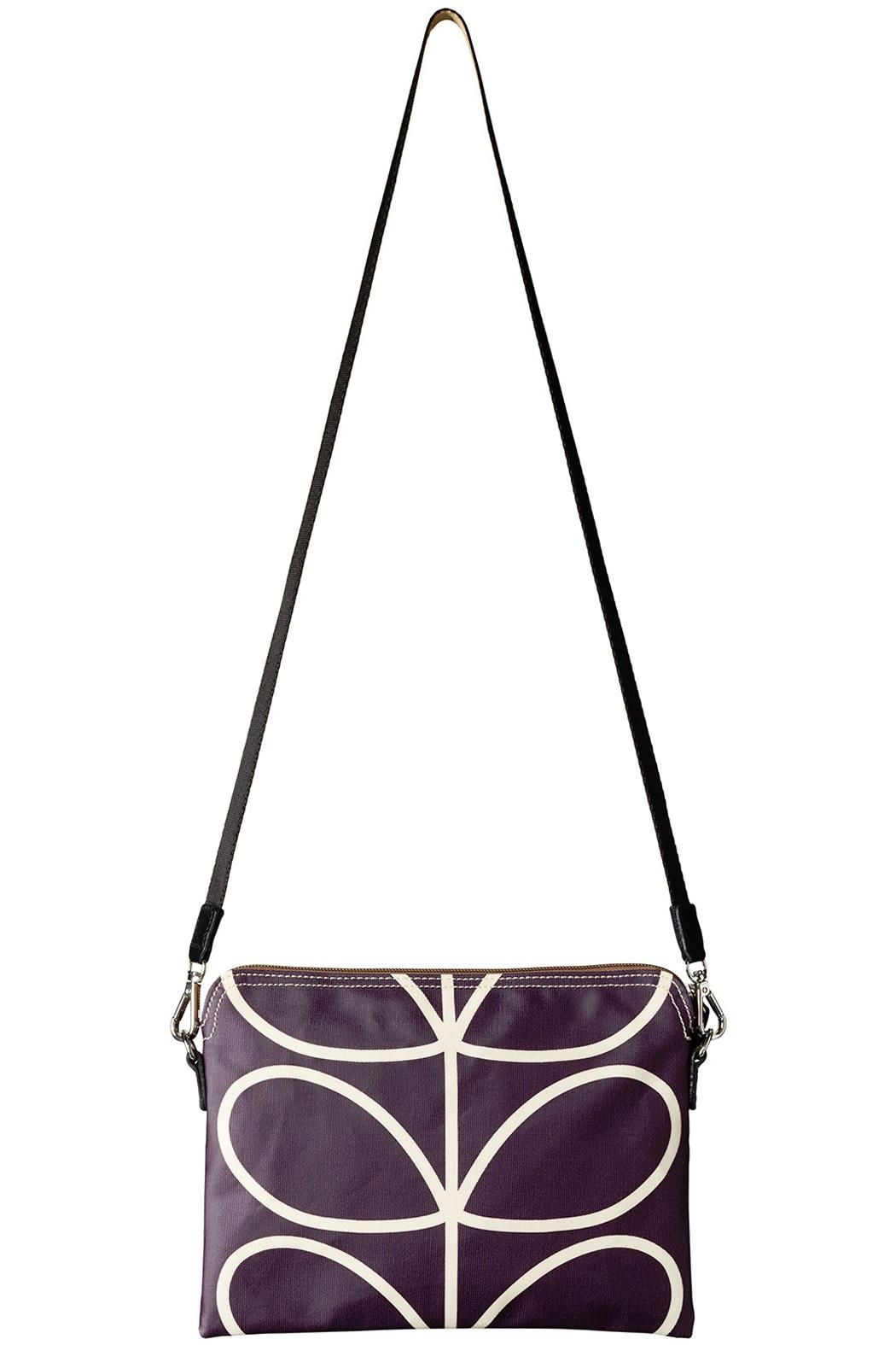 Orla Kiely Orchid Travel Pouch - Front Full Image