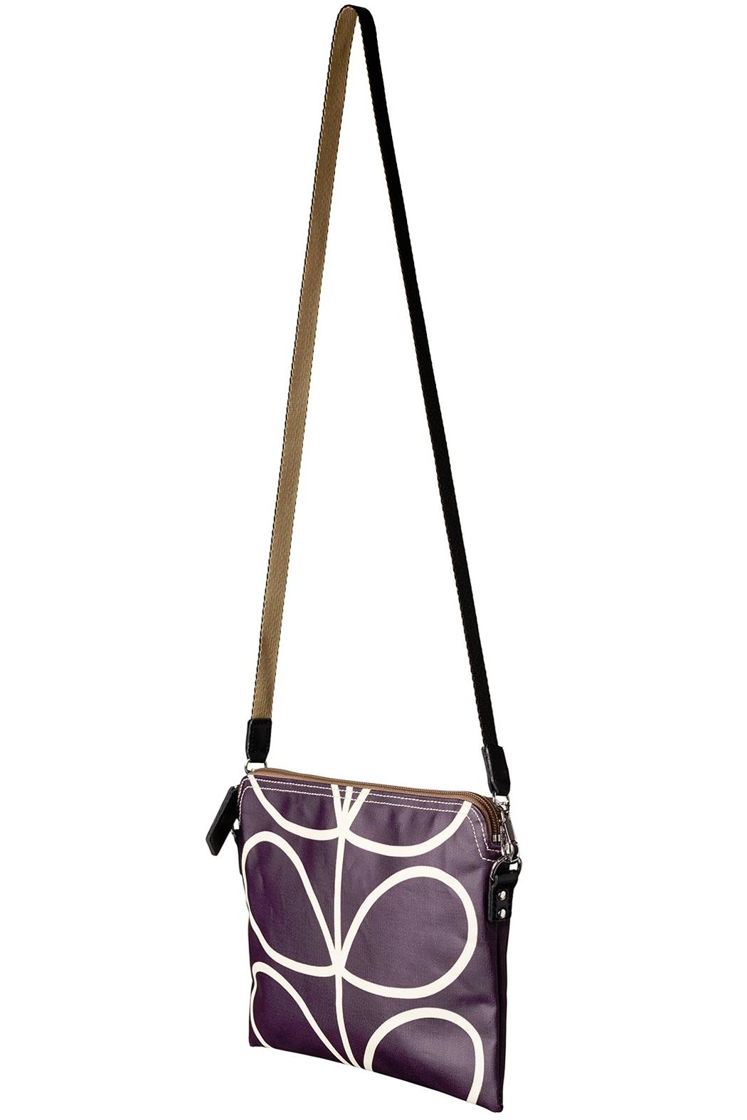 Orla Kiely Orchid Travel Pouch - Side Cropped Image