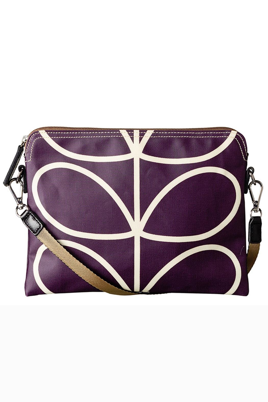 Orla Kiely Orchid Travel Pouch - Main Image